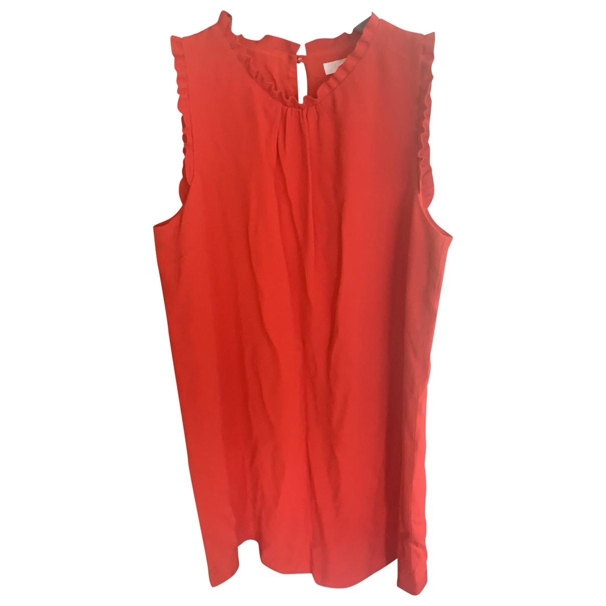 Sézane Spring Summer 2019 Red dress for Women 44 FR