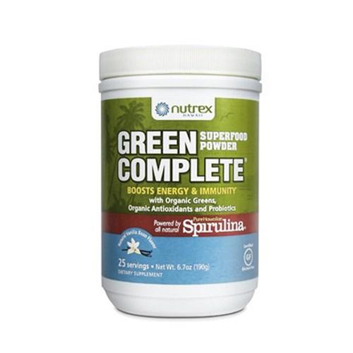 Green Complete Vanilla Bean 6.70 oz by Nutrex
