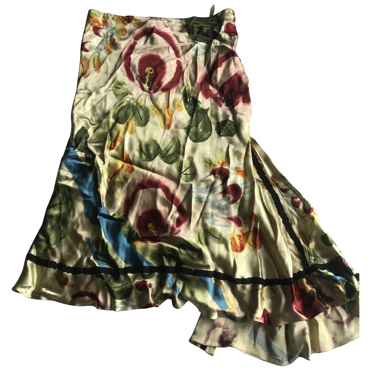 Jean Paul Gaultier \N Multicolour Silk skirt for Women 40 FR