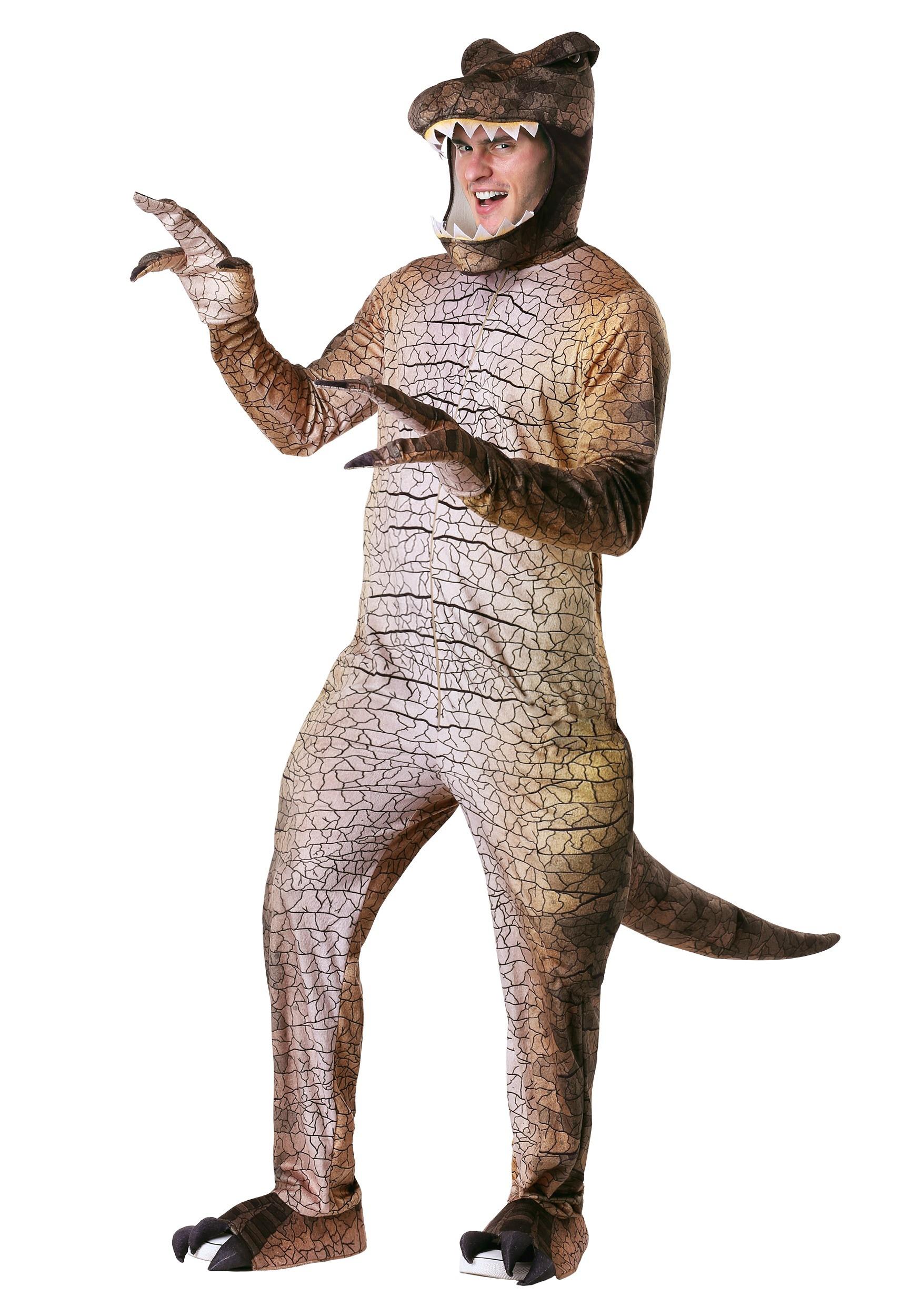 Prehistoric T-Rex Costume for Men