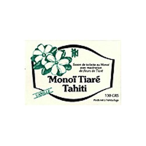 Soap Bar Vanilla 4.6 Oz by Monoi Tiare