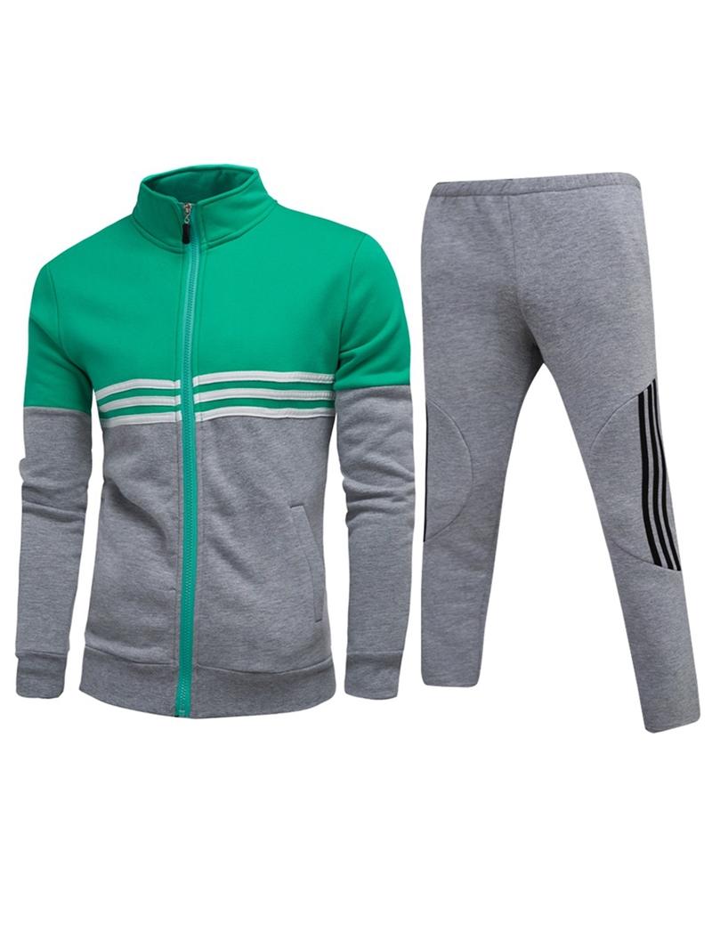 Ericdress Cotton Micro-Elastic Men's Outfit