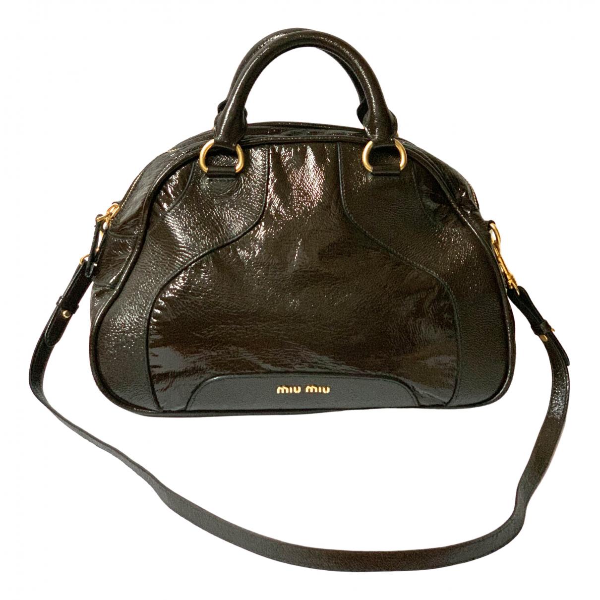 Miu Miu \N Patent leather handbag for Women \N