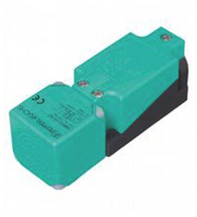 Pepperl + Fuchs Inductive Sensor - Block, PNP-NO/NC Output, 15 mm Detection, IP68, IP69K, M20 Gland Terminal