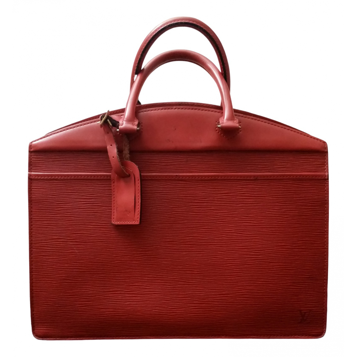 Louis Vuitton \N Red Leather Travel bag for Women \N