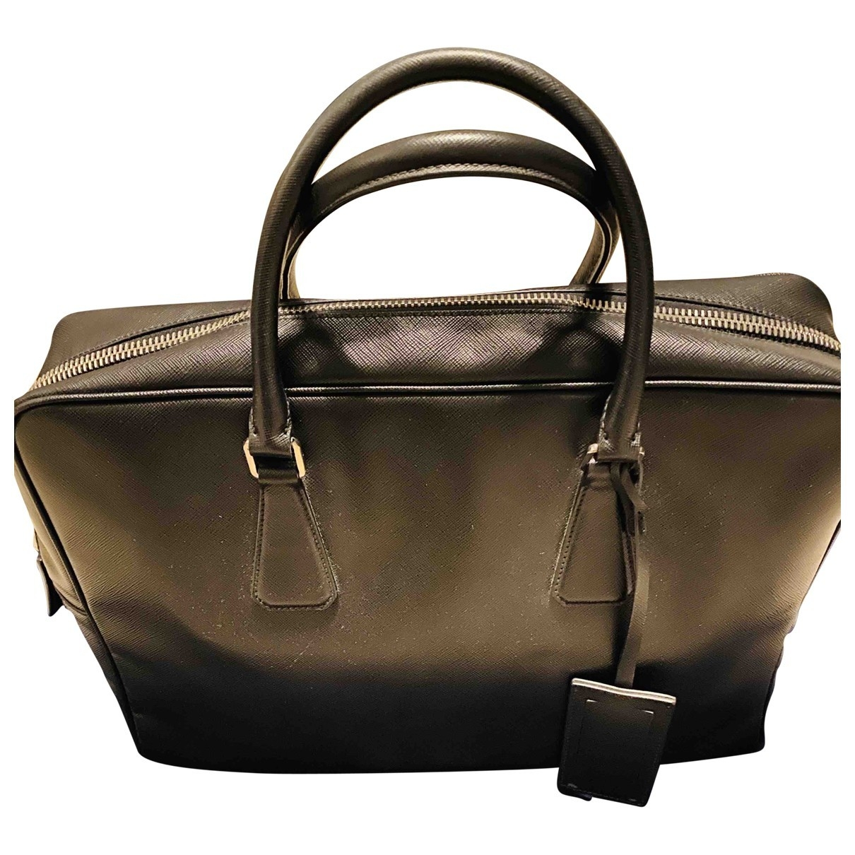 Prada \N Black Leather Travel bag for Women \N
