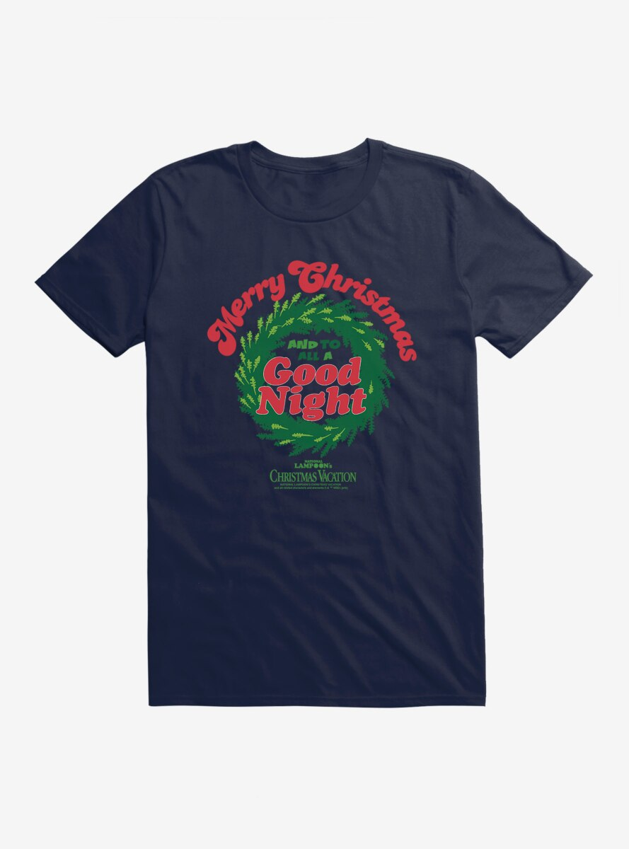 National Lampoon's Christmas Vacation To All A Good Night T-Shirt