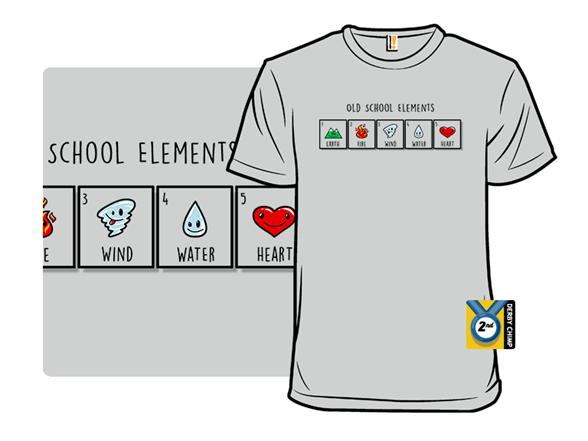 Old School Elements T Shirt