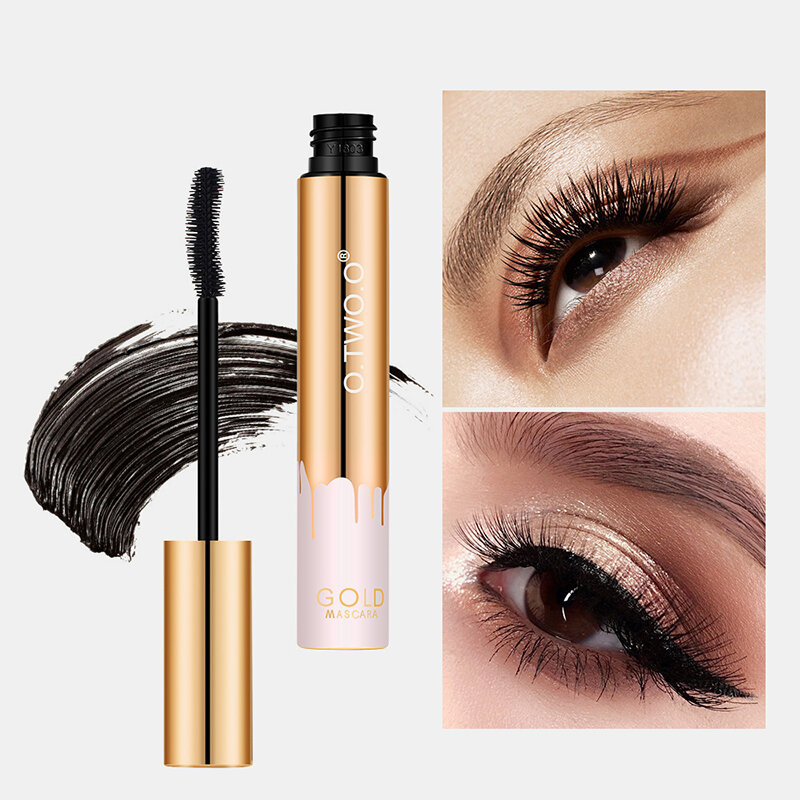3D Mascara Waterproof Lasting Fast Dry Thick Curling Eyelash Extension Brush Eye Makeup