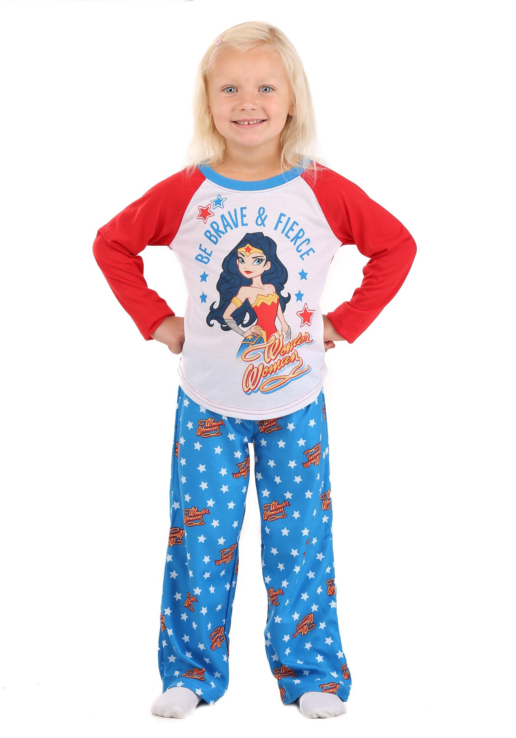 Wonder Woman Sleepwear Set for Kids