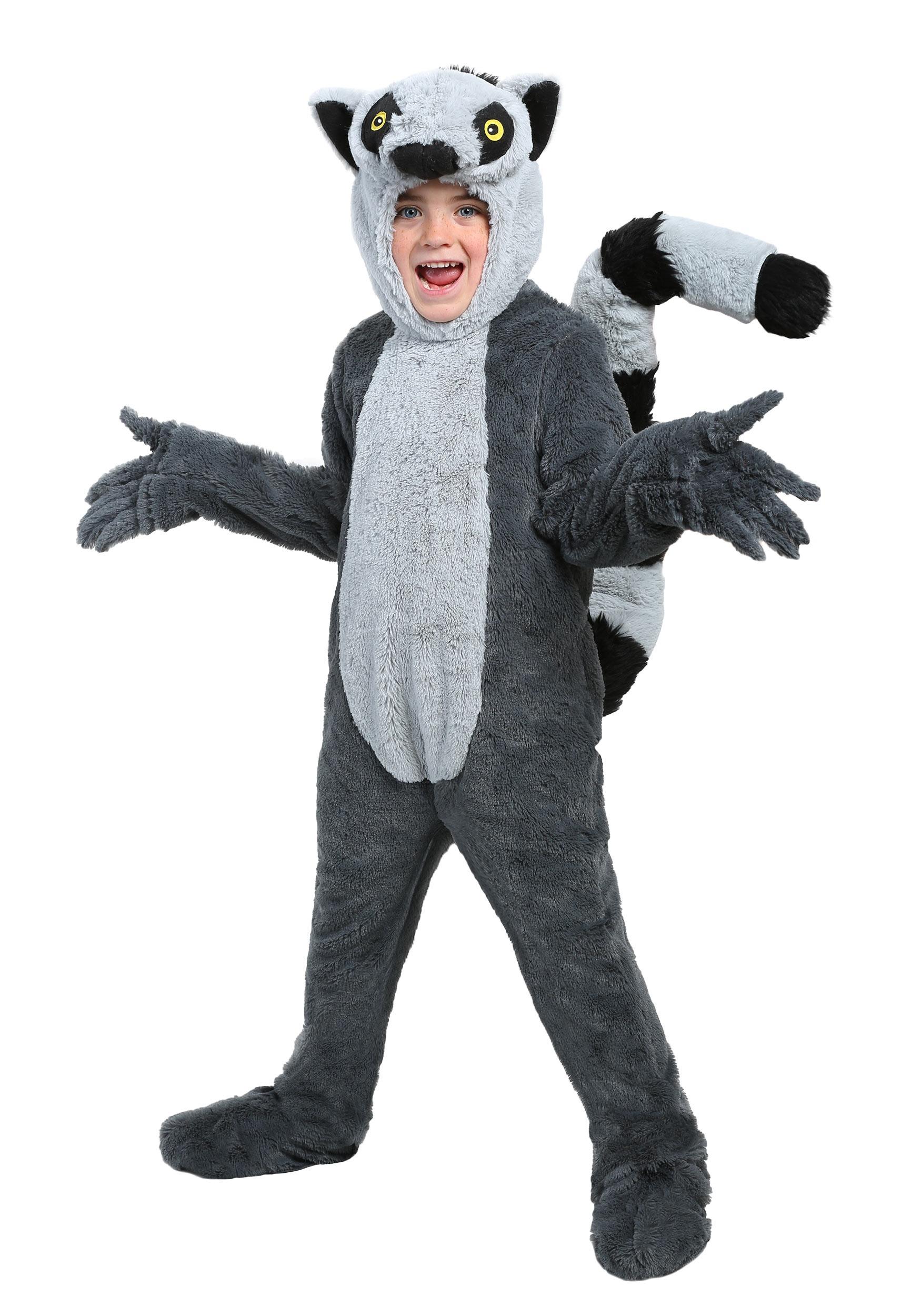 Lemur Costume for Kids