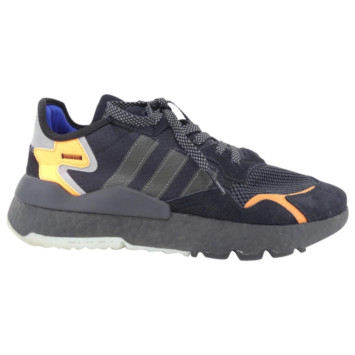 Adidas \N Black Cloth Trainers for Men 9 US