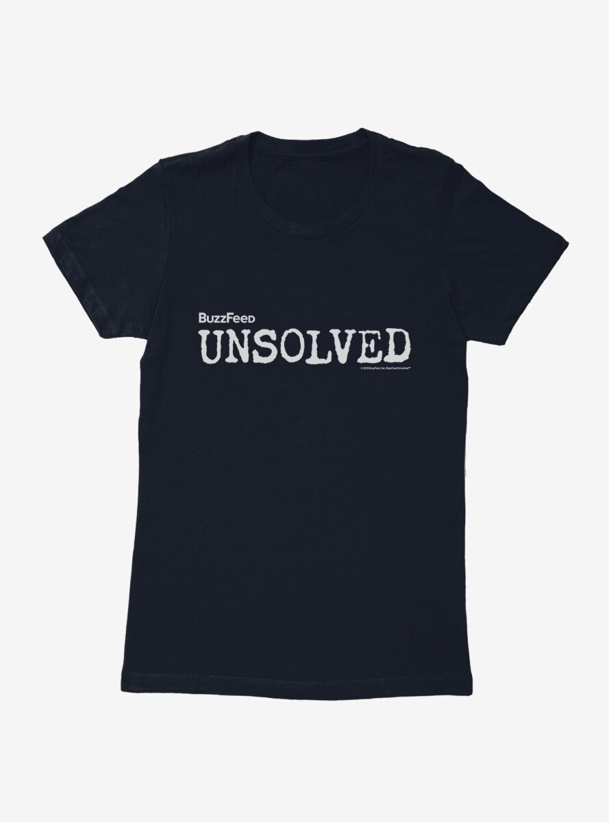 Buzzfeed's Unsolved Logo Womens T-Shirt