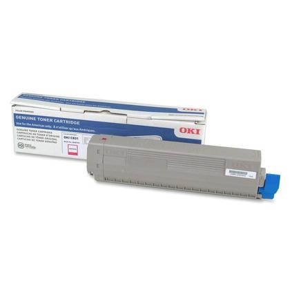 Okidata C831 44844510 cartouche de toner originale magenta