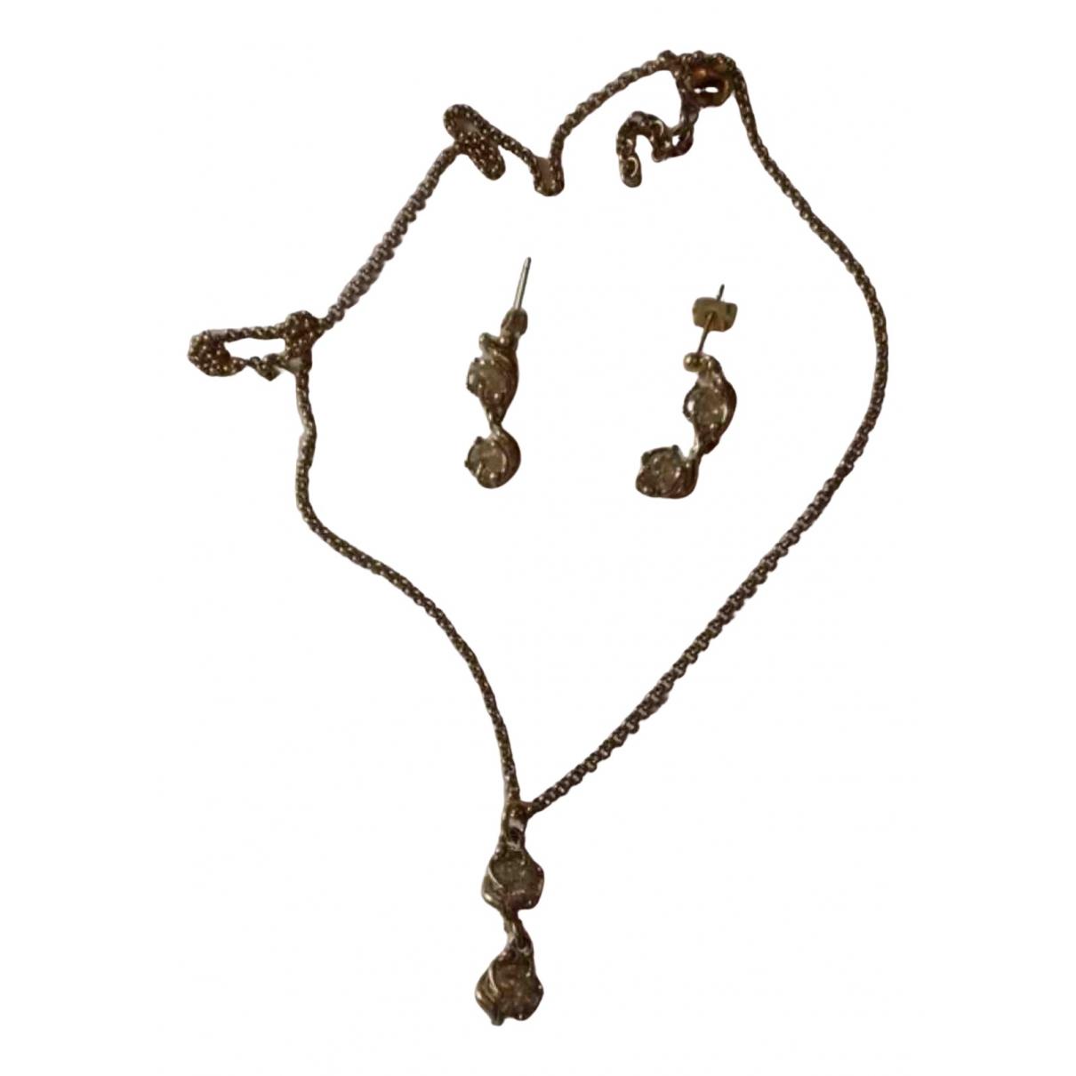 Charles Jourdan \N Gold Metal Jewellery set for Women \N