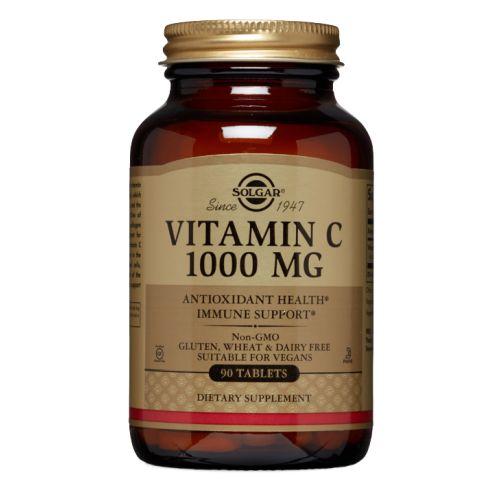 Vitamin C 90 Tabs by Solgar