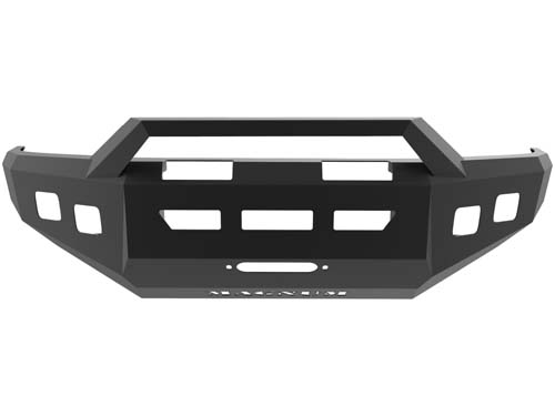 Tacoma Front Winch Bumper 05-14 Toyota Tacoma Dbl 3.5inch Square Light Holes Magnum RT Series ICI Innovative Creations FBM90TYN-RT