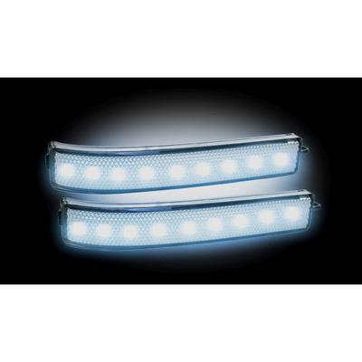 RECON LED Side Mirror Lenses - 264241WHCL