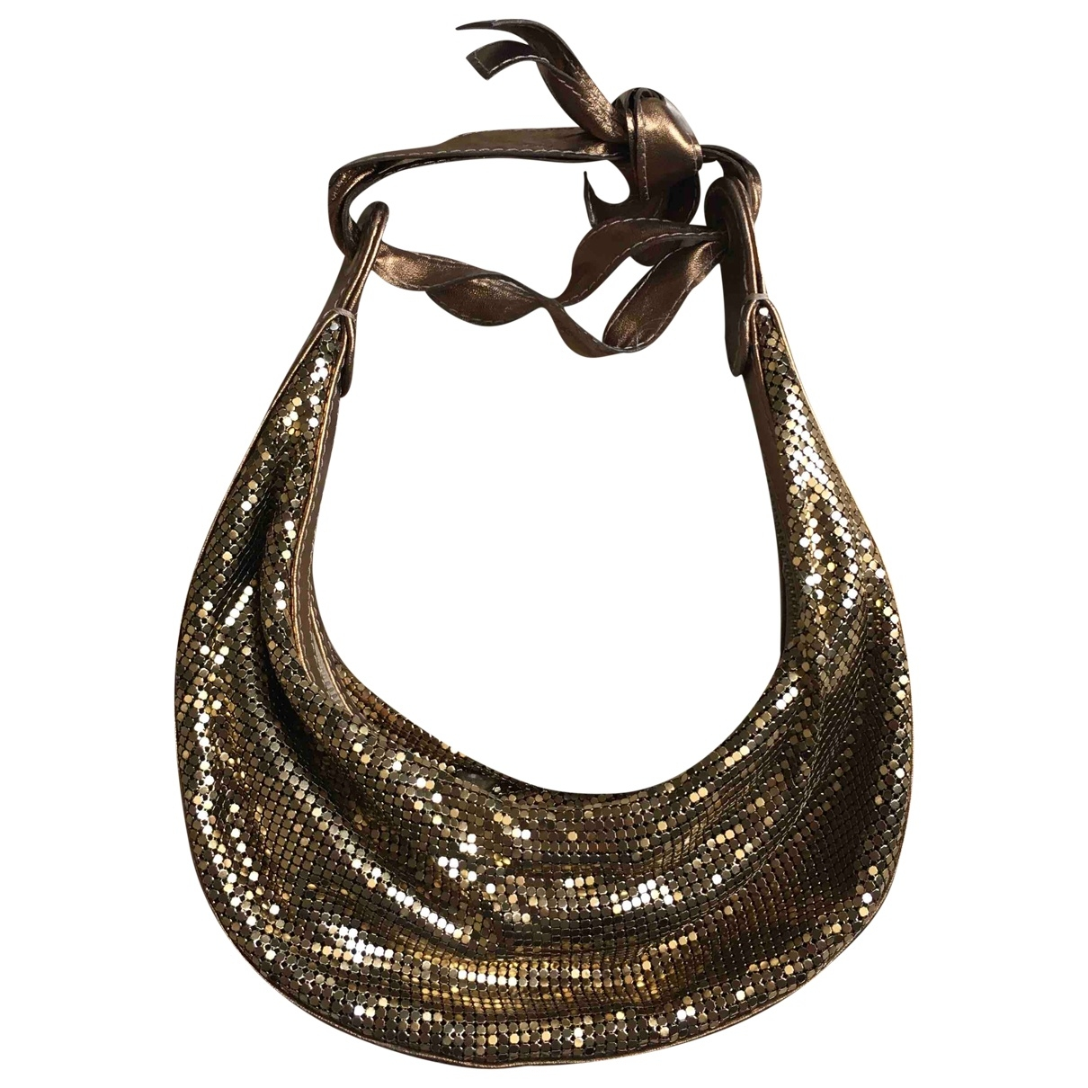 Chloé \N Gold Glitter handbag for Women \N