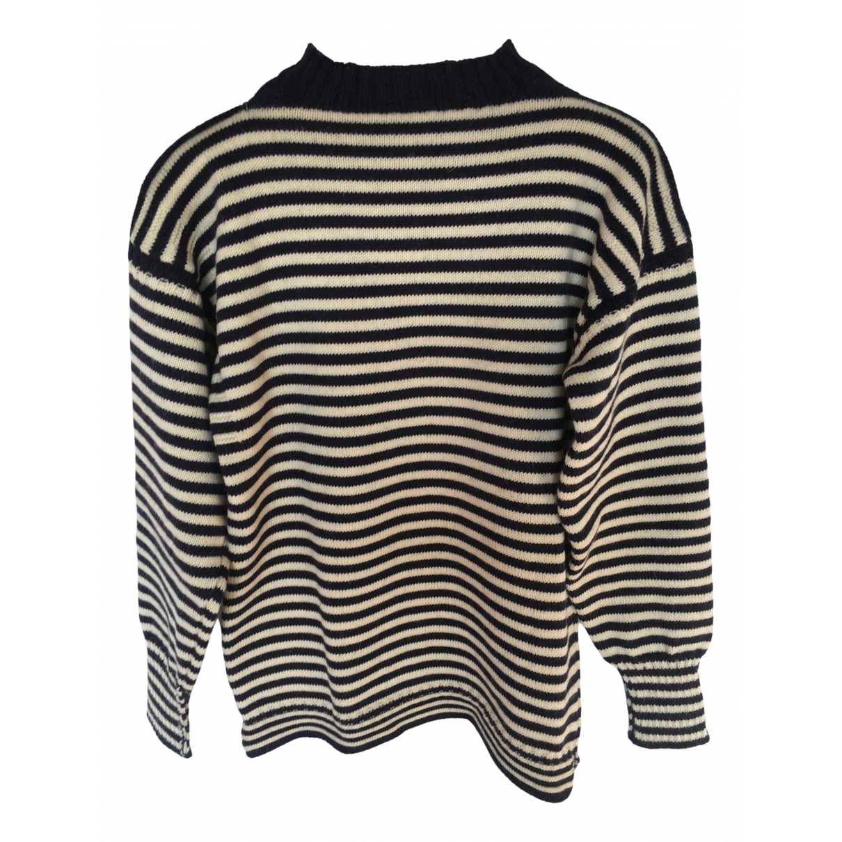 Non Signé / Unsigned \N Blue Wool Knitwear for Women 38 FR