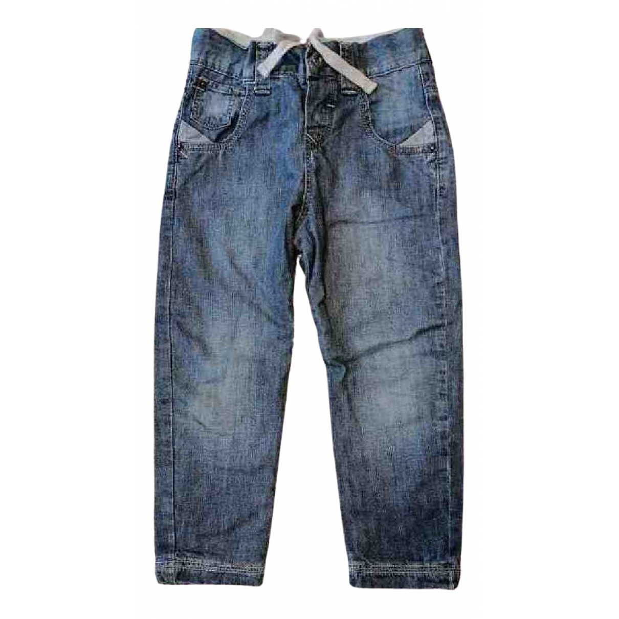Levi's \N Turquoise Cotton Trousers for Kids 4 years - up to 102cm FR