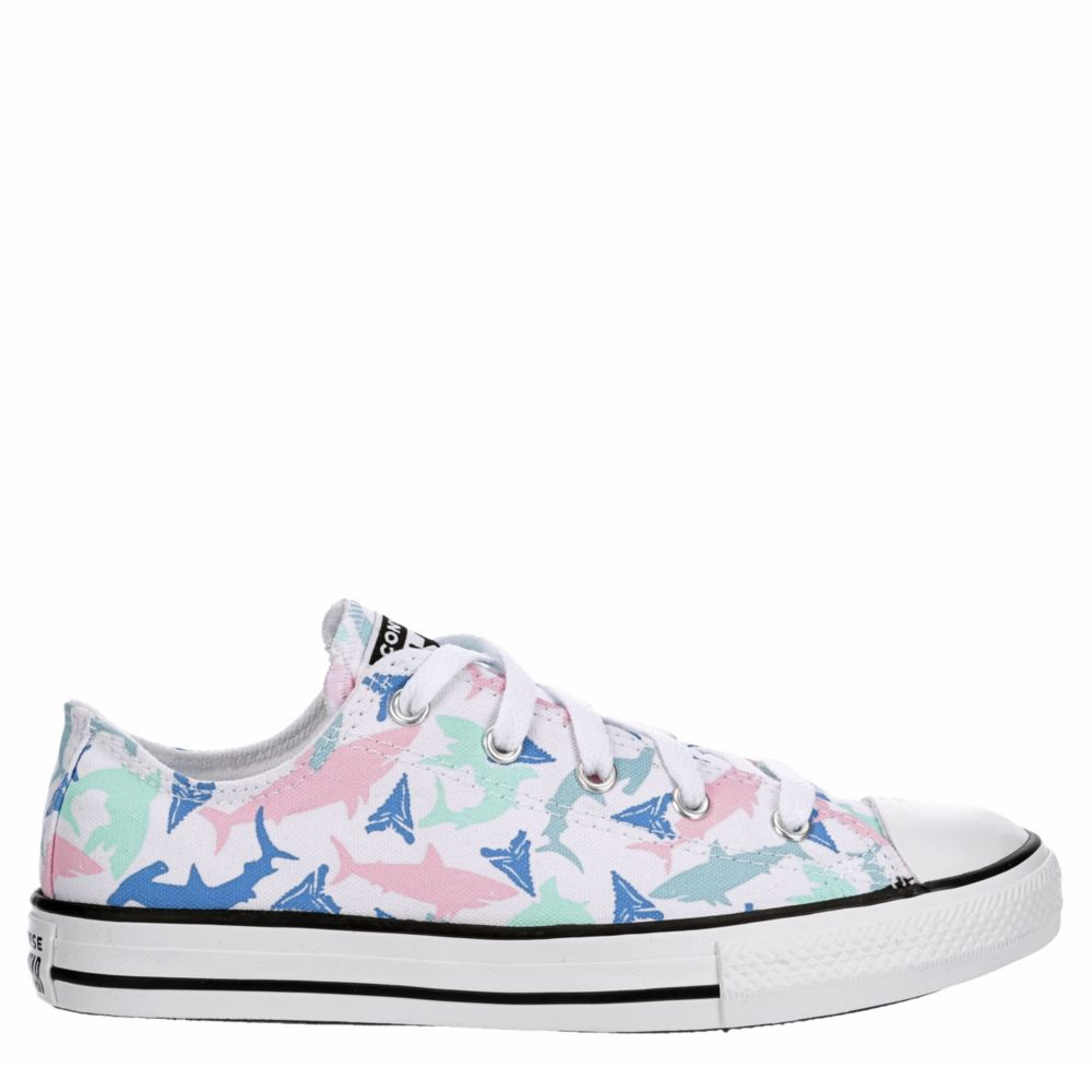 Converse Girls Chuck Taylor All-Star Low-Top Shoes Sneakers