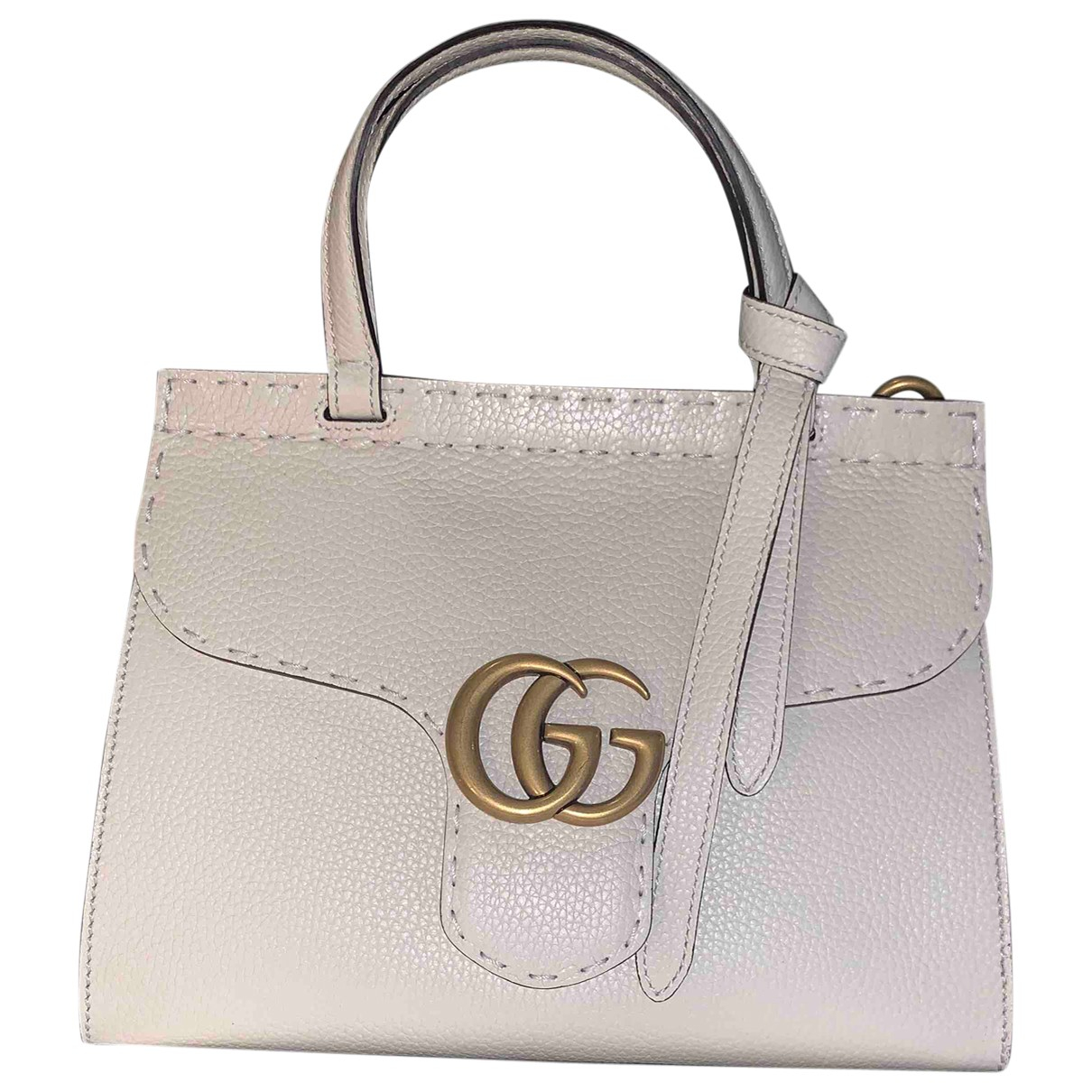 Gucci Marmont White Leather handbag for Women \N