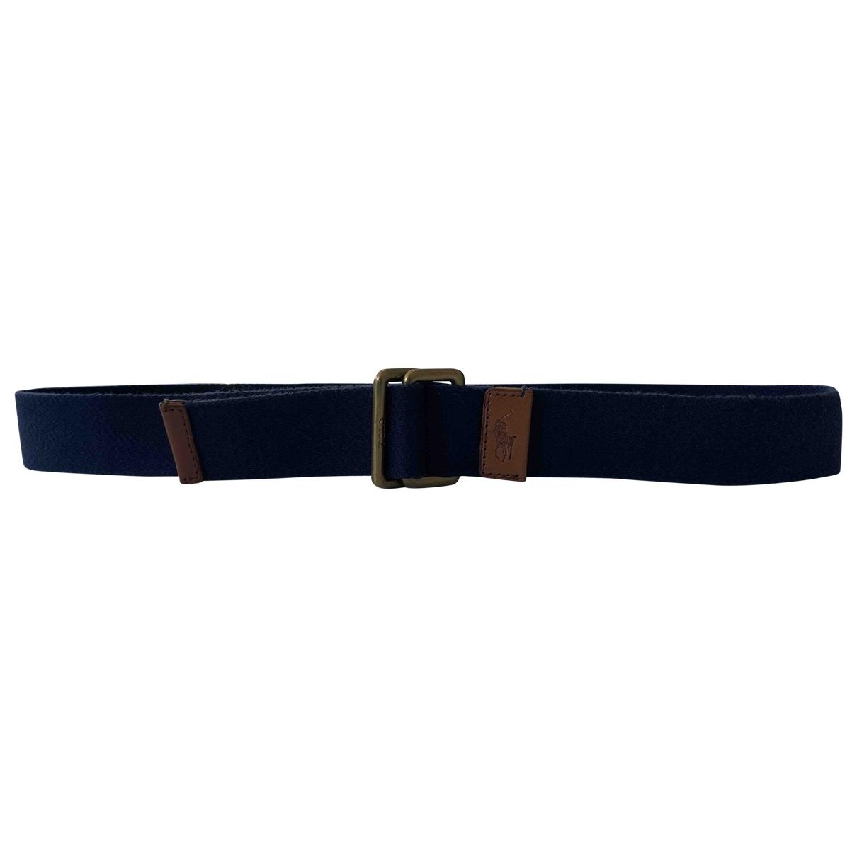 Polo Ralph Lauren \N Blue Cloth belt for Men M international