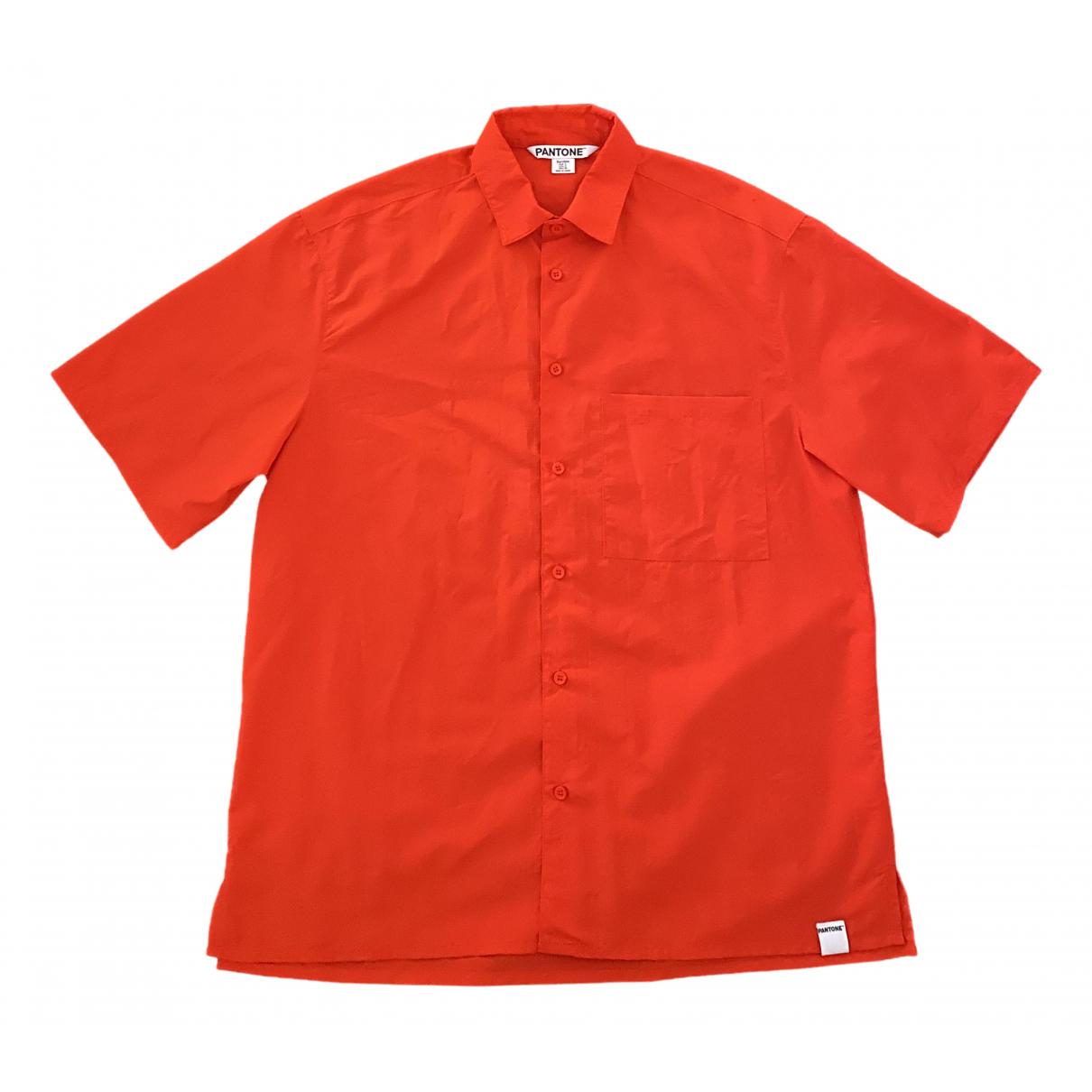 Pantone \N Orange Shirts for Men S International