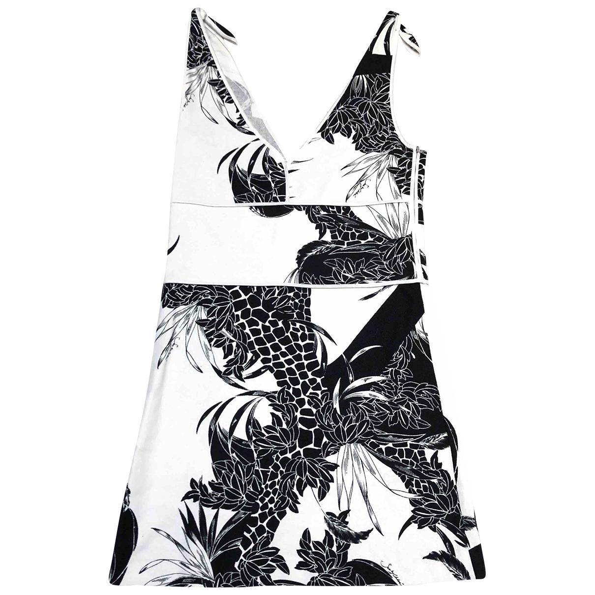 See By Chloé \N White Linen dress for Women 34 FR