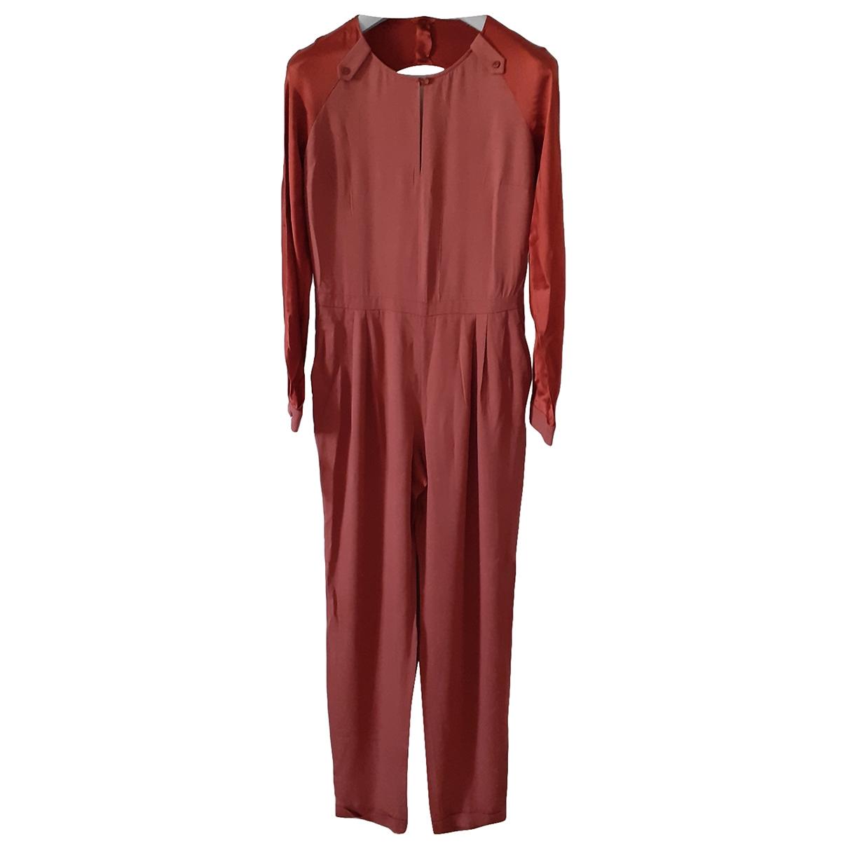 Non Signé / Unsigned \N Cotton jumpsuit for Women 44 IT