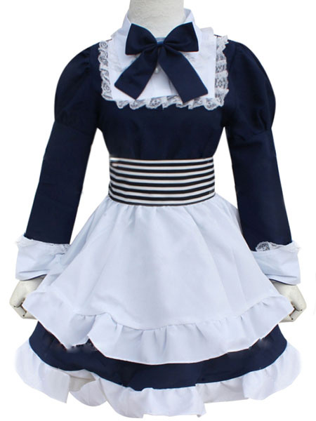 Milanoo Hetalia APH The Republic Of Belarus Halloween Cosplay Costume Natalia Arlovskaya Maid Costume Halloween