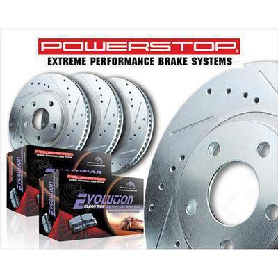 Power Stop Z23 Evolution Sport Performance 1-Click Front and Rear Brake Kit - K4502