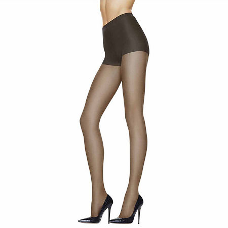 Hanes Silk Reflections Sheer Support Pantyhose, Ij , Black