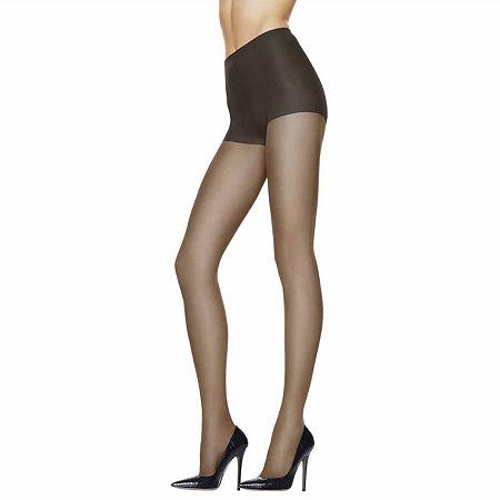 Hanes Silk Reflections Sheer Support Pantyhose, Cd , Black
