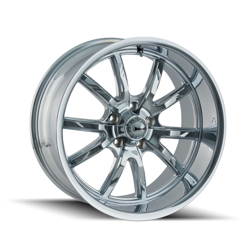 Ridler 650 Chrome 20x8.5 5x120 30mm 72.62mm Wheel