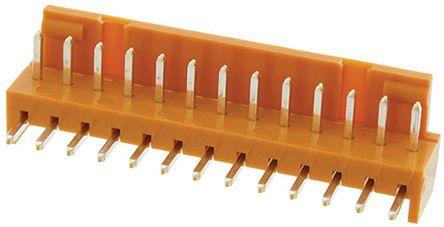 JAE , IL-G, 13 Way, 1 Row, Right Angle PCB Header (10)