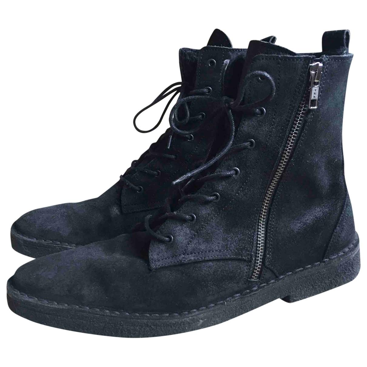 Pierre Hardy \N Black Suede Boots for Men 41 EU