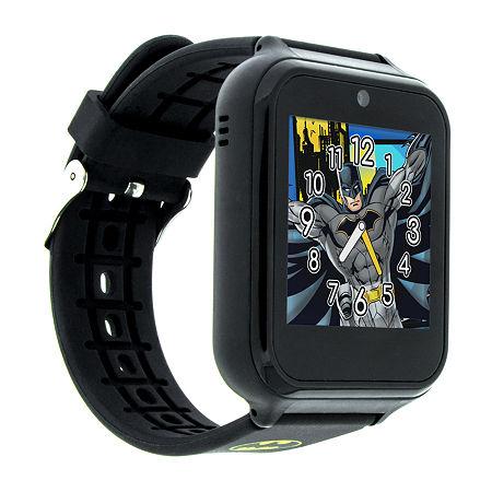 Batman Boys Multi-Function Black Smart Watch-Bat4740jc, One Size , No Color Family