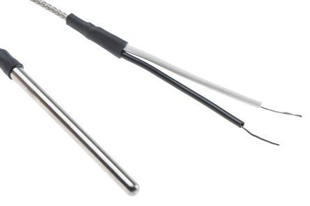 RS PRO Type J Thermocouple 75mm Length, 4.76mm Diameter → +350°C