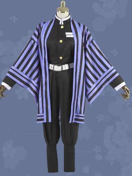 Milanoo Iguro Obanai Cosplay Costume Demon Slayer: Kimetsu No Yaiba Cosplay Set