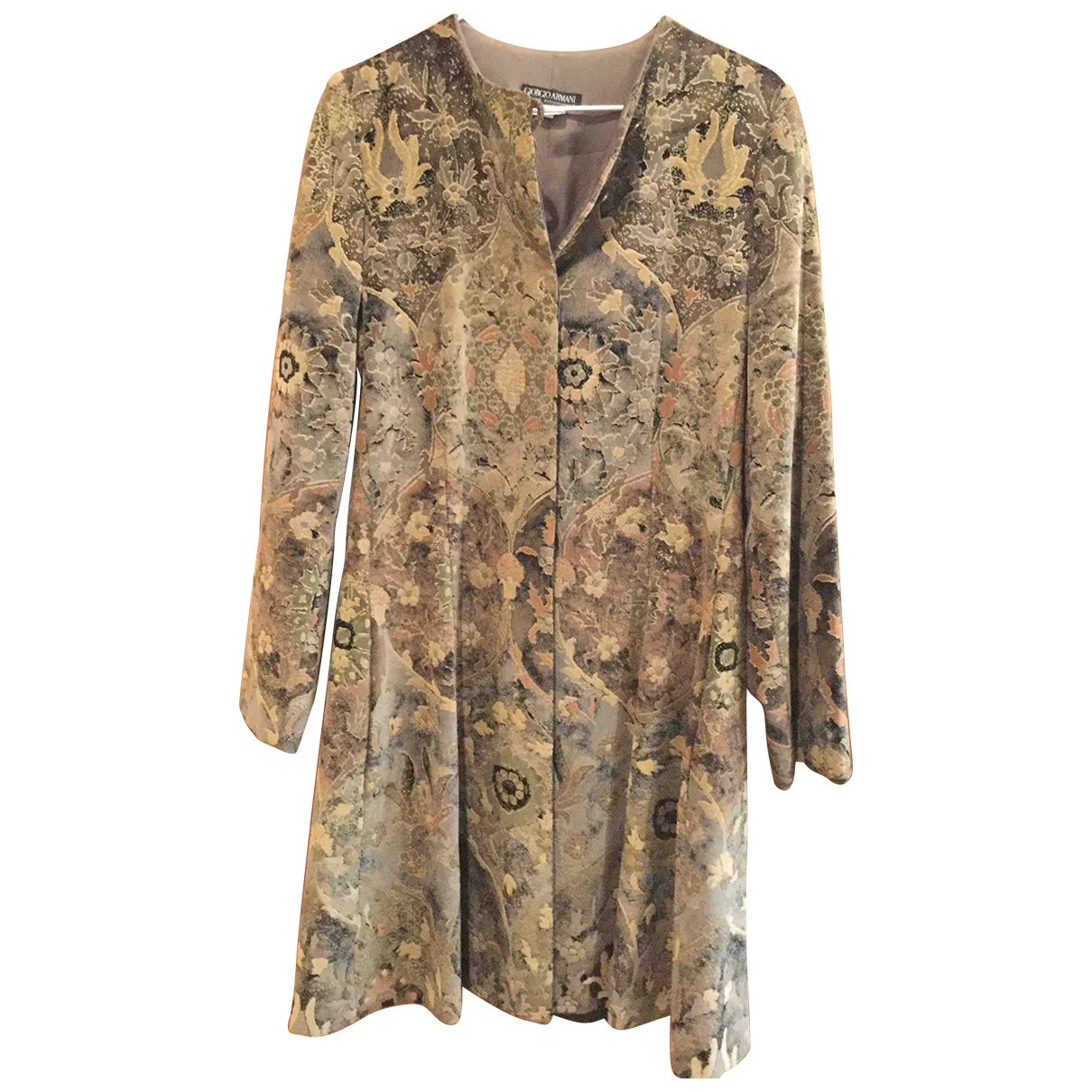Giorgio Armani \N Multicolour Velvet jacket for Women 40 IT