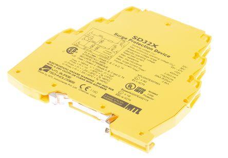 MTL SD Series 22 V ac, 32 V dc Maximum Voltage Rating 20kA Maximum Surge Current Surge Protection Device, DIN Rail