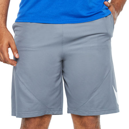 Nike Mens Elastic Waist Basketball Shorts - Big and Tall, 4x-large Tall , Gray