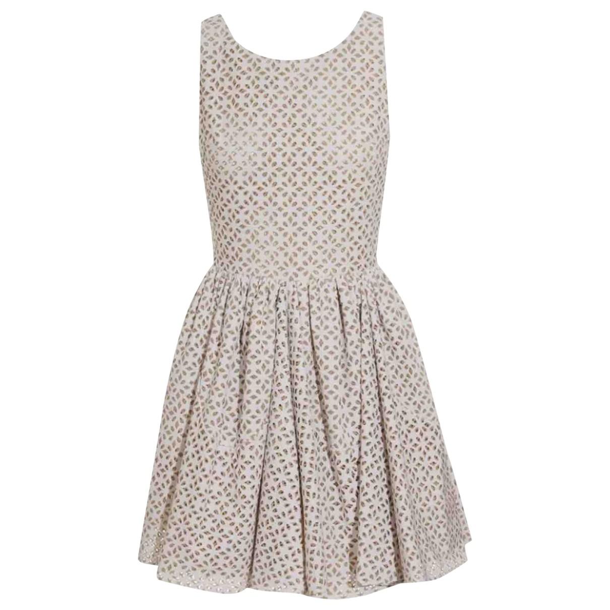 Alaïa \N White dress for Women 40 FR