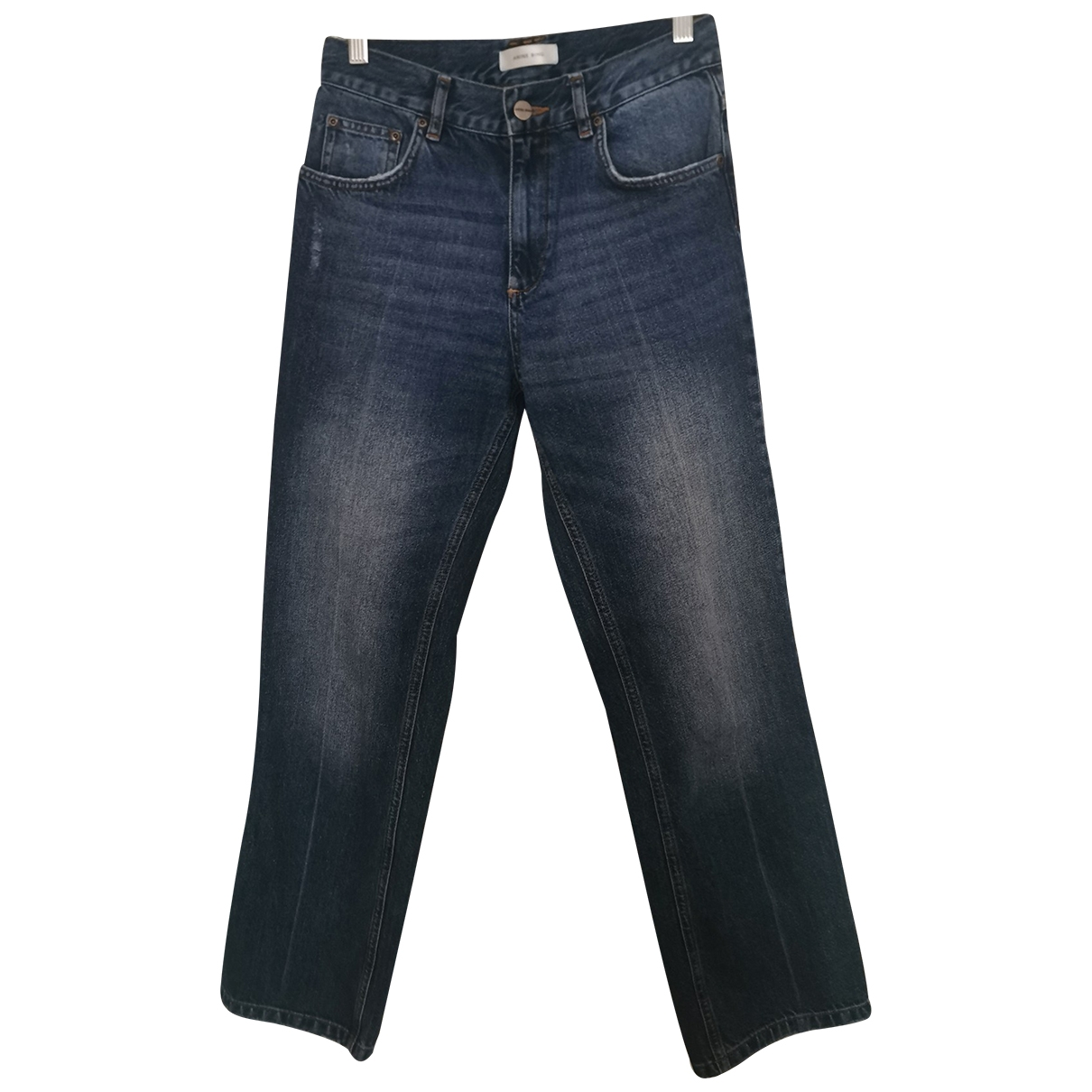 Anine Bing \N Blue Cotton Jeans for Women 26 US