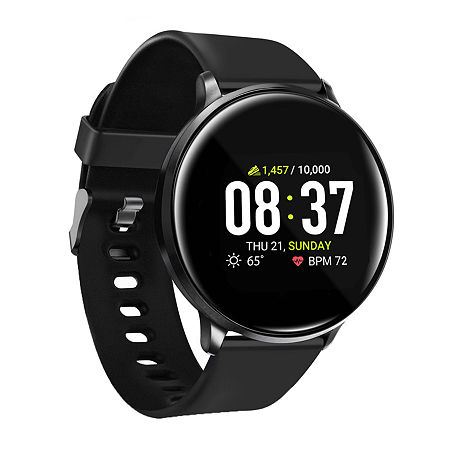 Itouch Sport Mens Multi-Function Black Smart Watch-42003b-18-003, One Size , No Color Family