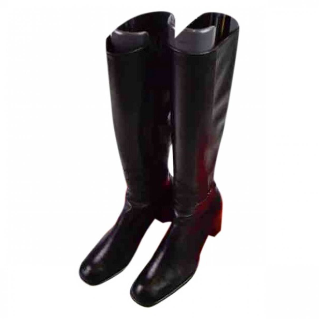 Bally \N Black Leather Boots for Women 36 EU