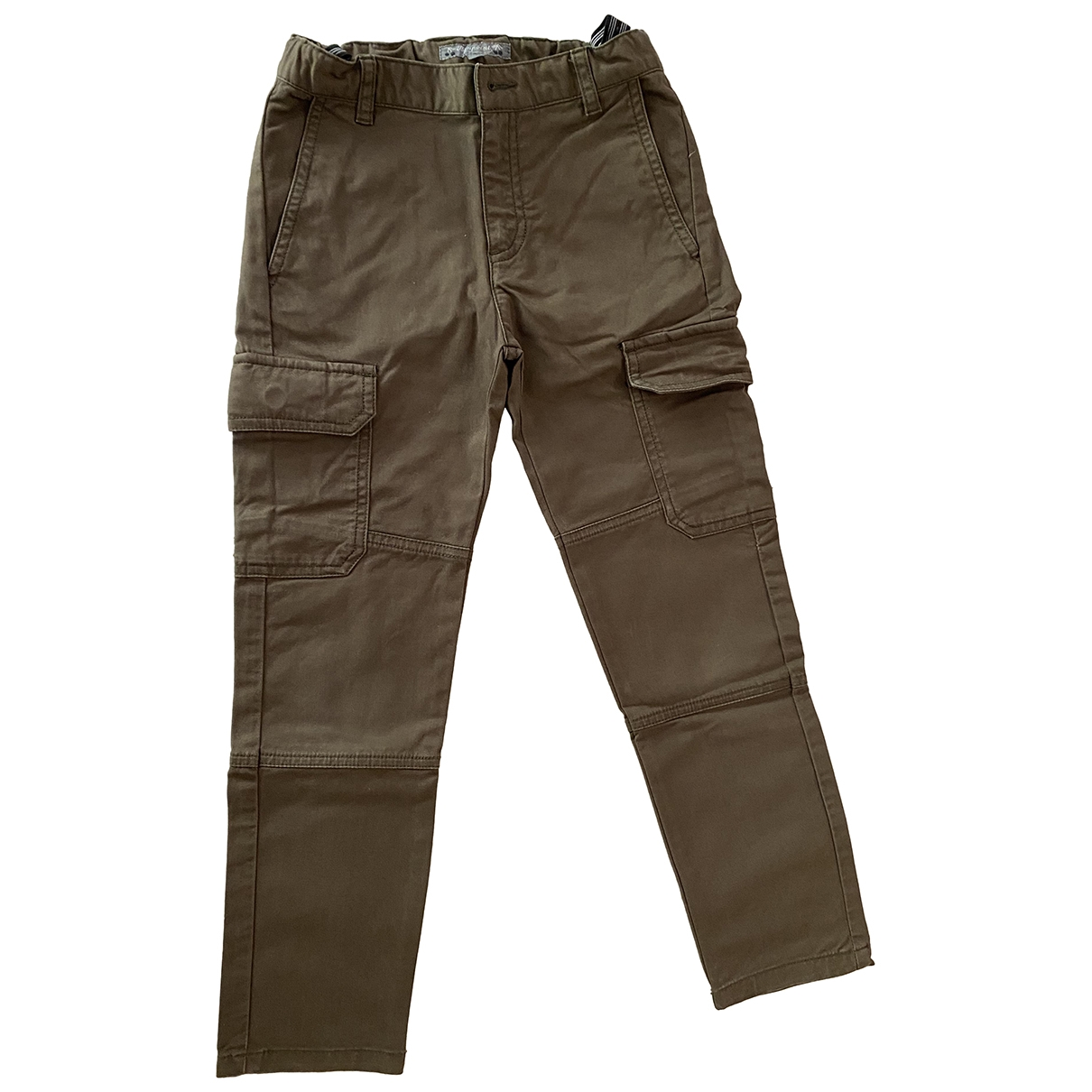 Bonpoint \N Khaki Cotton Trousers for Kids 6 years - up to 114cm FR
