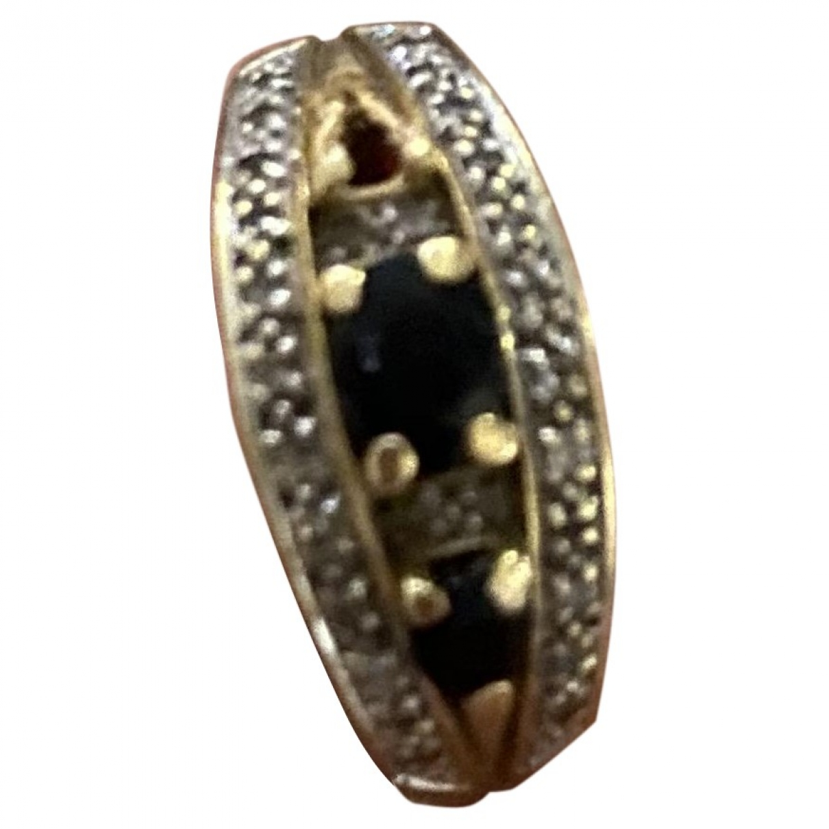 Non Signé / Unsigned Saphir Gold Yellow gold ring for Women \N